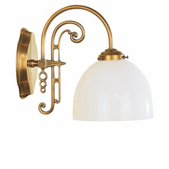 Wandlampe Jugendstil antik messing