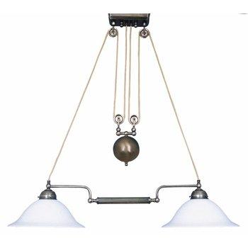 Height adjustable pendulum lamp