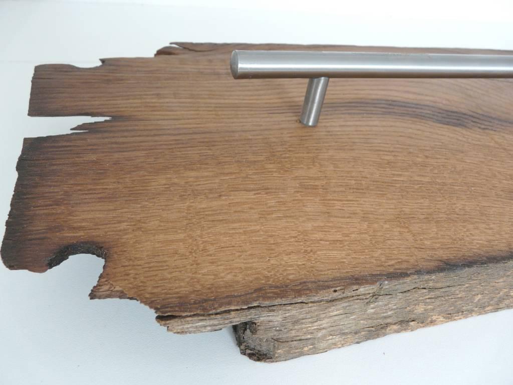 Küchenleiste aus altem Fachwerkbalken - Luxina Licht