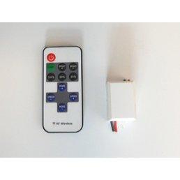 Duo radio remote control for dimming + reception module
