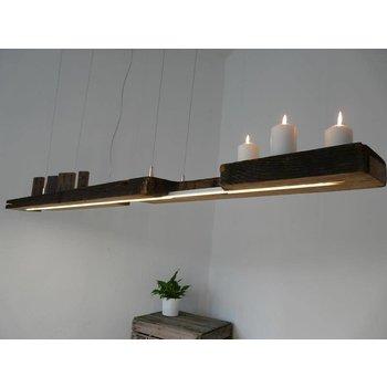 Lampe suspendue Lampe LED poutres anciennes