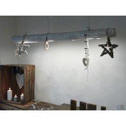 Shabby Chic driftwood lamp ~ 136 cm