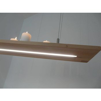 Hängelampe concepteur de lampe LED hêtre ~ 80 cm