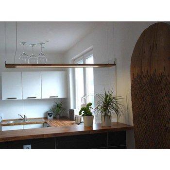 Hängelampe acacia bois ~ 120 cm