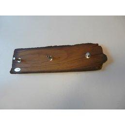 Manteau d'encadrement ancien bois ~ 67 cm
