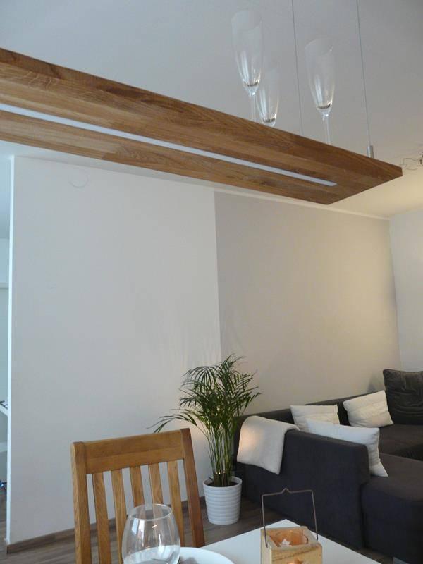 holzlampe aus eichenholz kaufen luxina licht. Black Bedroom Furniture Sets. Home Design Ideas