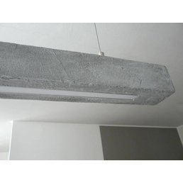 XL Led Betonlampe ~ 180 cm
