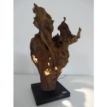 Wurzelholz Skulptur