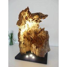 XL ronce sculpture en bois de chêne