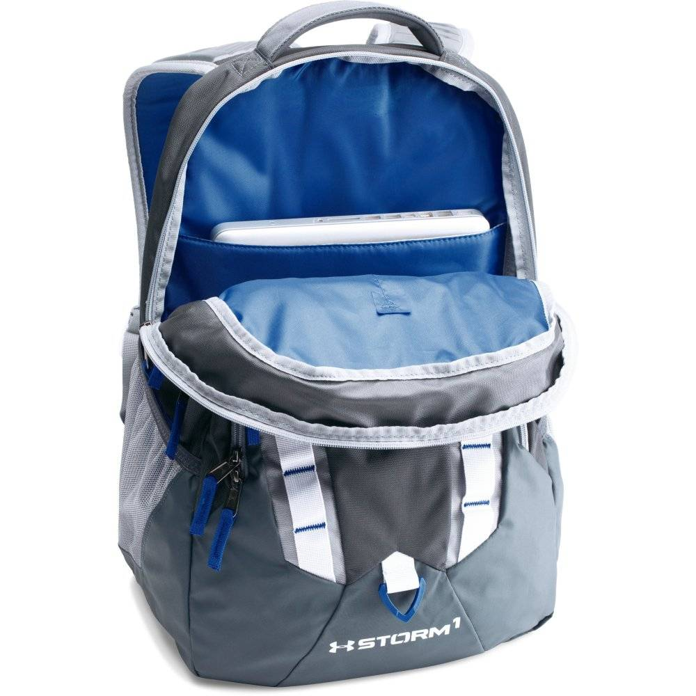 278f147080 Top S With Backpacks From Under Armour At Malisport. Under Armour Storm  Recruit Backpack Water Heron 464