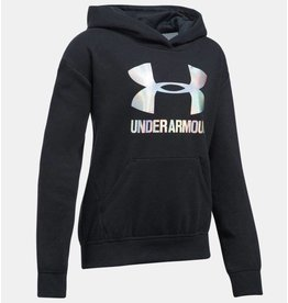 Under Armour Mädchen Hoodie UA Threadborne™ Fleece