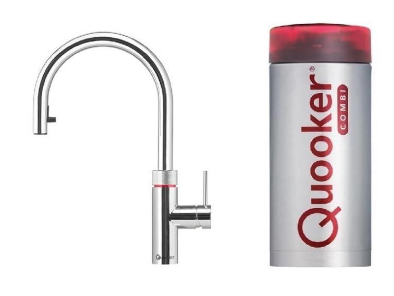 Quooker Flex chroom combi