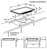 AEG HK874400FB inductie-kookplaat 80cm