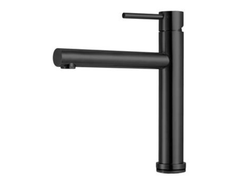 Caressi CA116BK ECO Plus Black Line eenhendel keukenmengkraan waterbesparend
