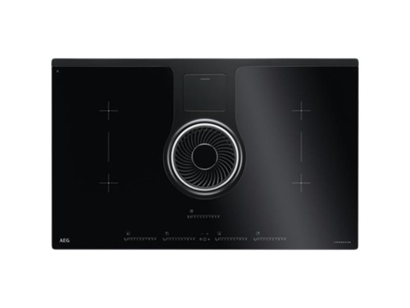 Aeg IDK84452IB inductie-kookplaat met afzuiging