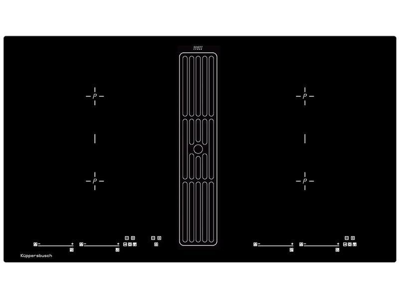 Kupperbusch KMI98000SR inductiekookplaat met afzuiging