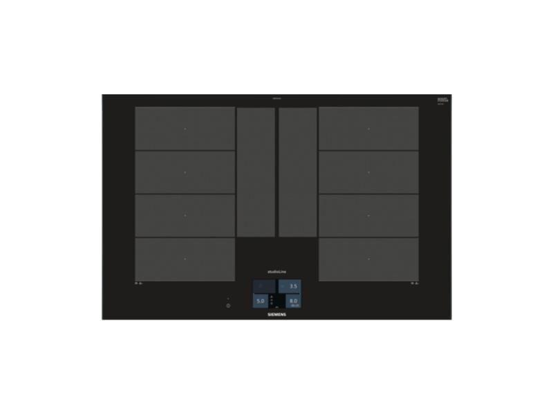 siemens ex877kyx1e inductie kookplaat 80cm veldkamp witgoed keukenapparatuur scherpe. Black Bedroom Furniture Sets. Home Design Ideas