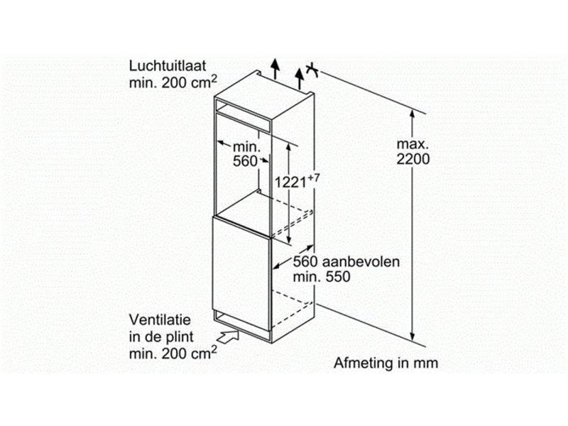 Siemens koelkast KI41RAD30