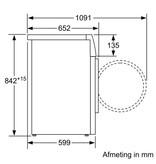 Siemens WT47O5C2NL warmtepompdroger