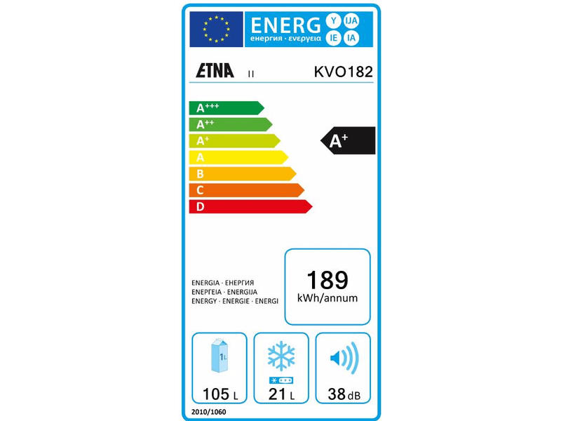 Etna koelkast KVO182