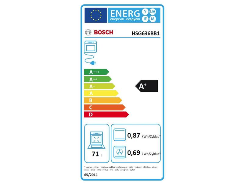 Bosch HSG636BB1 combi-stoomoven nis 60