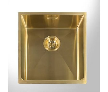 Lanesto Urban Gold Spoelbak 400x400mm