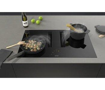 Berbel BKF83 DL-U downline  kookplaat met afzuiging