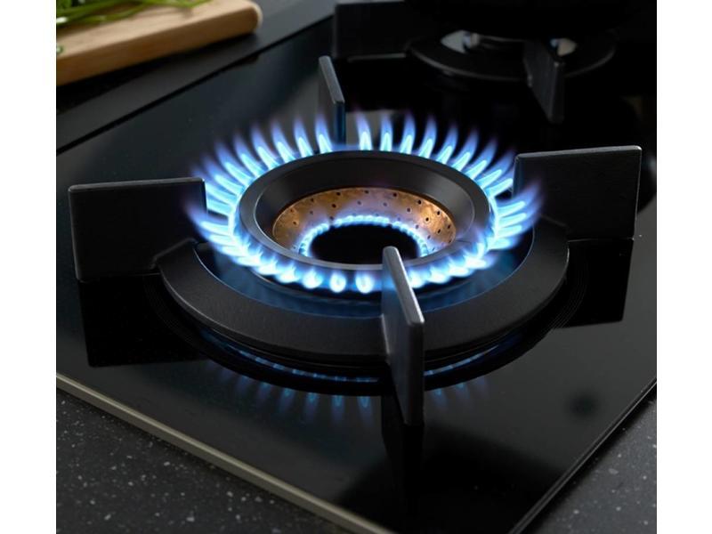 Atag HG9572MDA gas op glas kookplaat 90cm