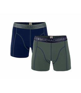 Muchachomalo 2-PACK MEN solid groen/blauw