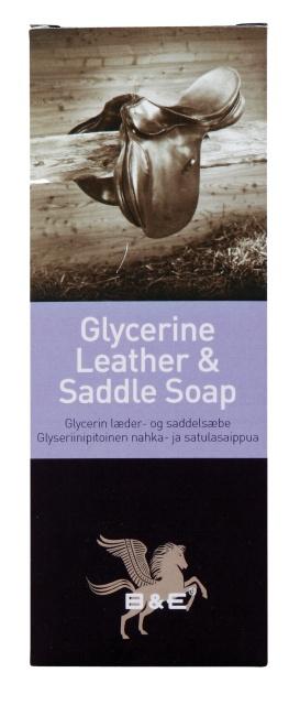 B&E Glycerine Leather & saddle Soap