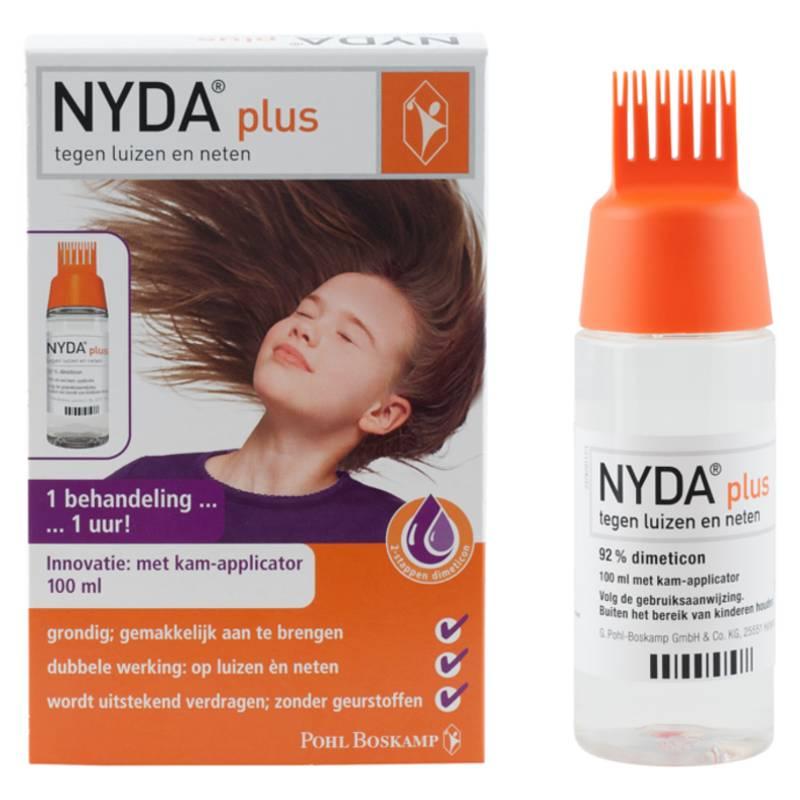 NYDA NYDA plus - tegen Luizen&Neten + kam-applicator - 100ml