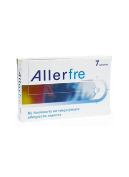Allerfre Allerfre 10mg - 7 st.