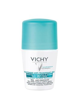 Vichy Vichy Anti-transpirant DEODORANT 48u Anti-witte en Gele Vlekken roller - 50ml