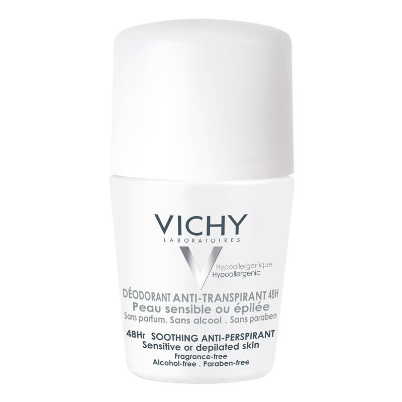 Vichy Vichy Anti-transpiratie DEODORANT 48u voor de gevoelige of geëpileerde huid - roller 50ml