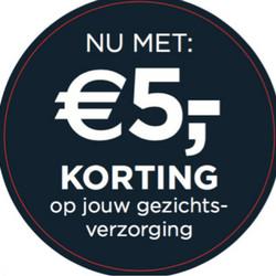 €5 korting