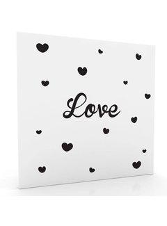 Muurdecoratie: Love