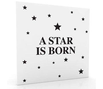 Muurdecoratie: Star is born