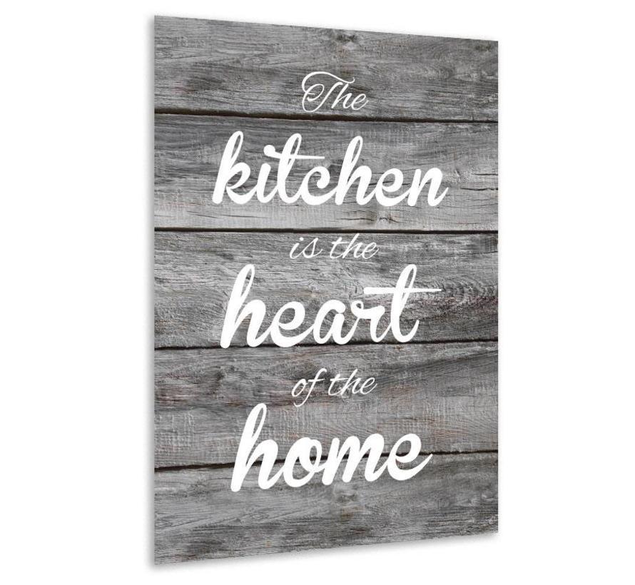 Muurdecoratie keuken: The Kitchen is the heart of the home