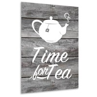 Muurdecoratie keuken: Time for tea