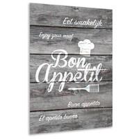 thumb-Muurdecoratie keuken: Bon Appetit-2