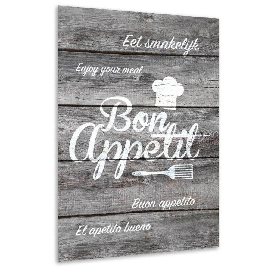 Muurdecoratie keuken: Bon Appetit-2
