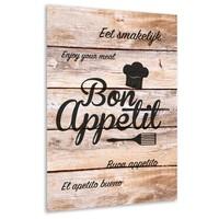 thumb-Muurdecoratie keuken: Bon Appetit-1