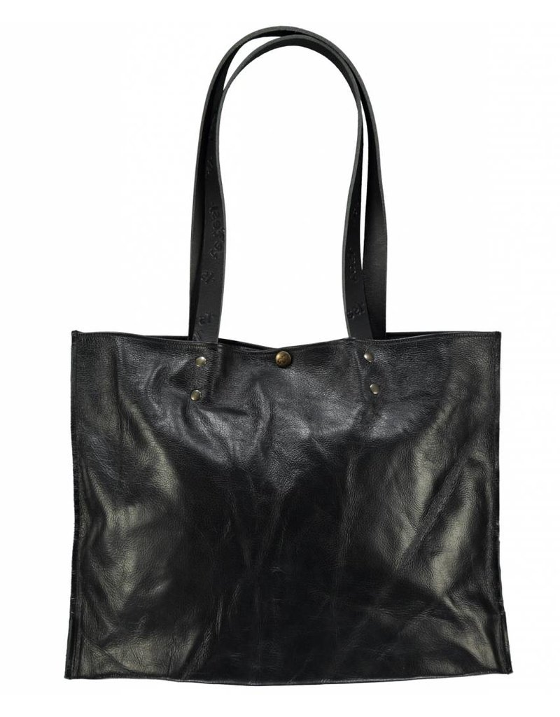 Tesj medium shopper zwart