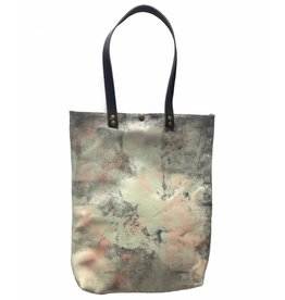 Tesj Shopper zalm/black/grijs