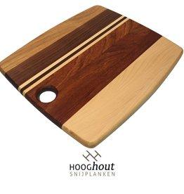Hooghout Snijplanken Foodies Snijplank 30x25x1,5cm