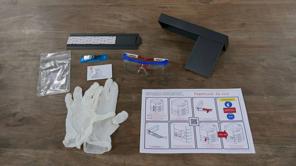 Paper Tray Lock PaperLock UPL-3a 400N