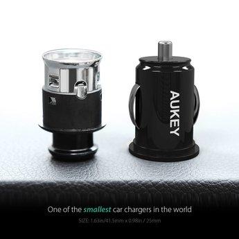 Aukey Autoladegerät mit 2 x USB