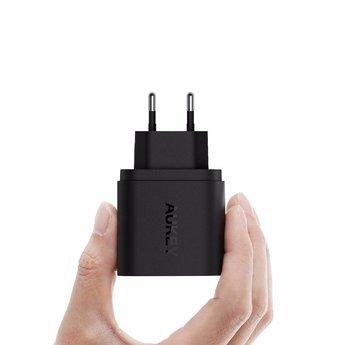 Aukey USB Turbo Ladegerät mit Micro USB Kabel