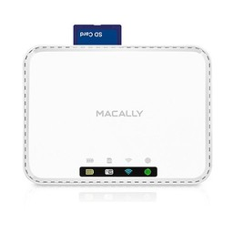Macally Mobiler WI-FI Router mit Mediahub