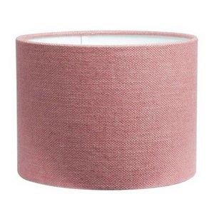 RamLux Lampenschirm 50 cm Zylinder LIVIGNO Alt Rosa